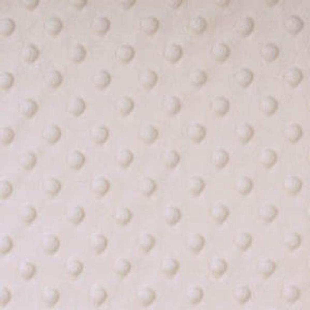 Ivory Dimple - Shannon Fabrics Cuddle Minky
