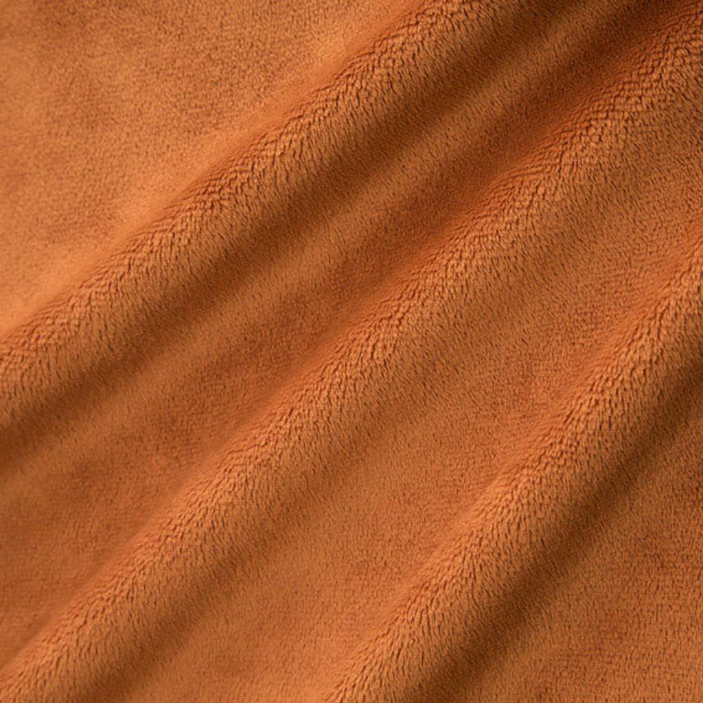 Rust Smooth - Shannon Fabrics Cuddle Minky