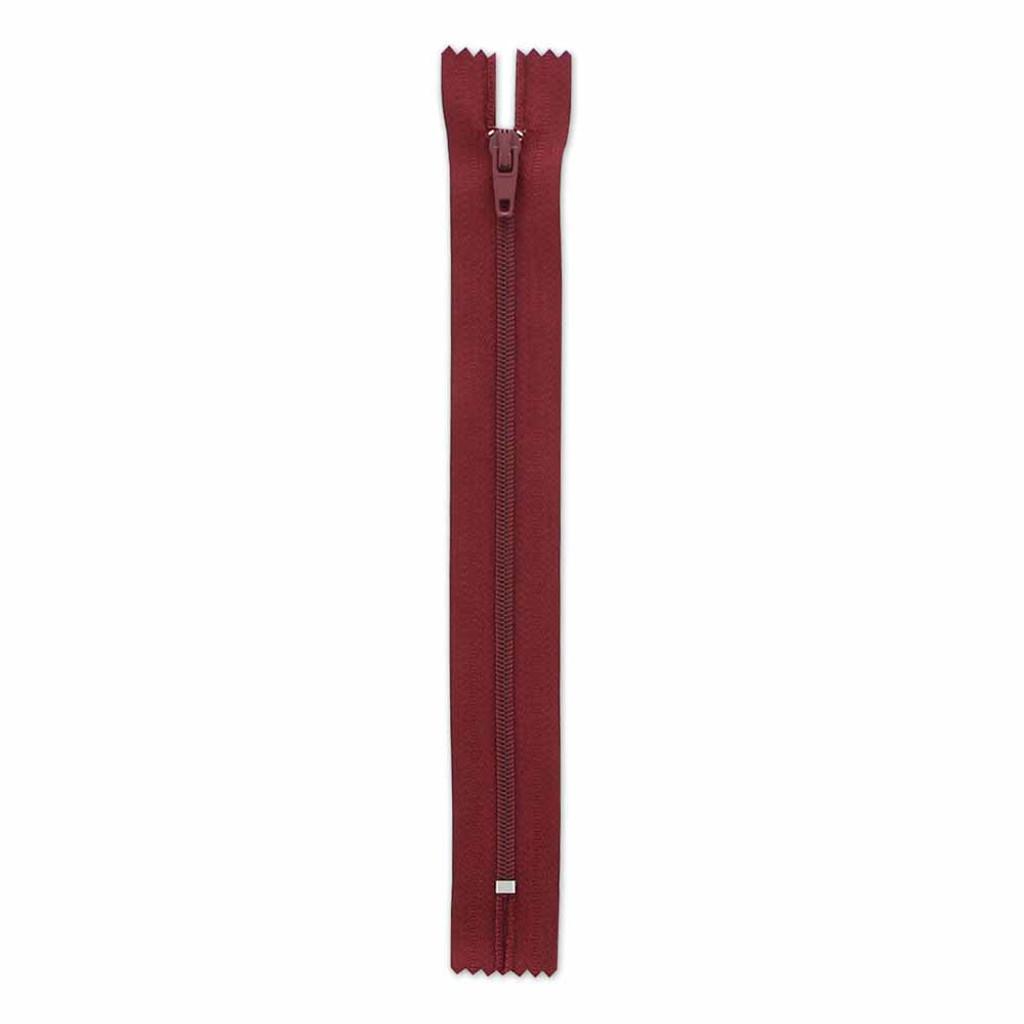 17.75cm/7in Zipper - Bordeaux