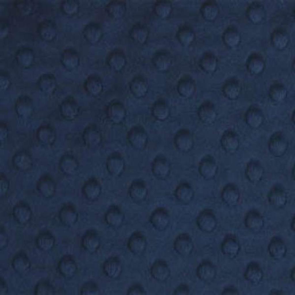 Navy Dimple Minky - Shannon Fabrics