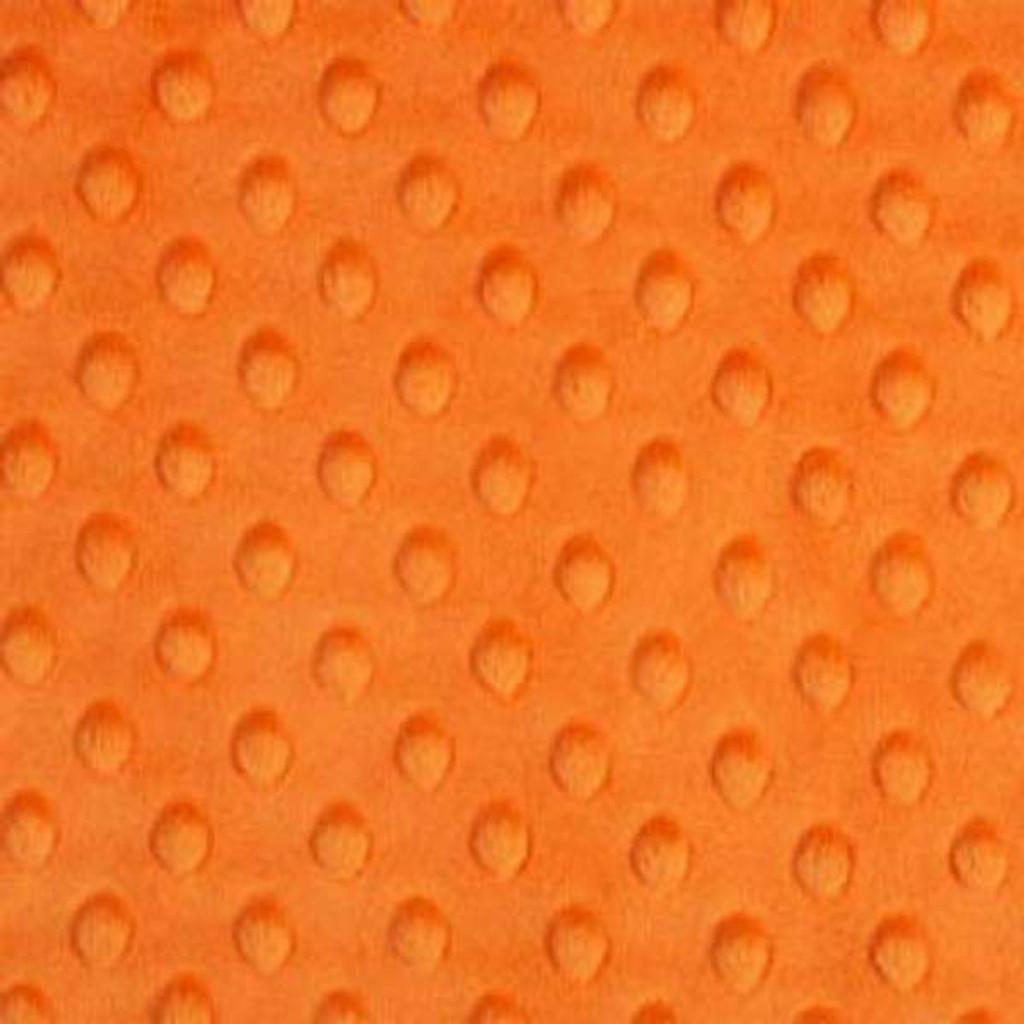 Orange Dimple Minky - Shannon Fabrics
