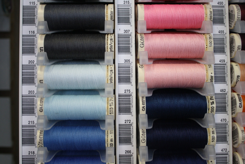 Navy #272 Polyester Thread - 100m