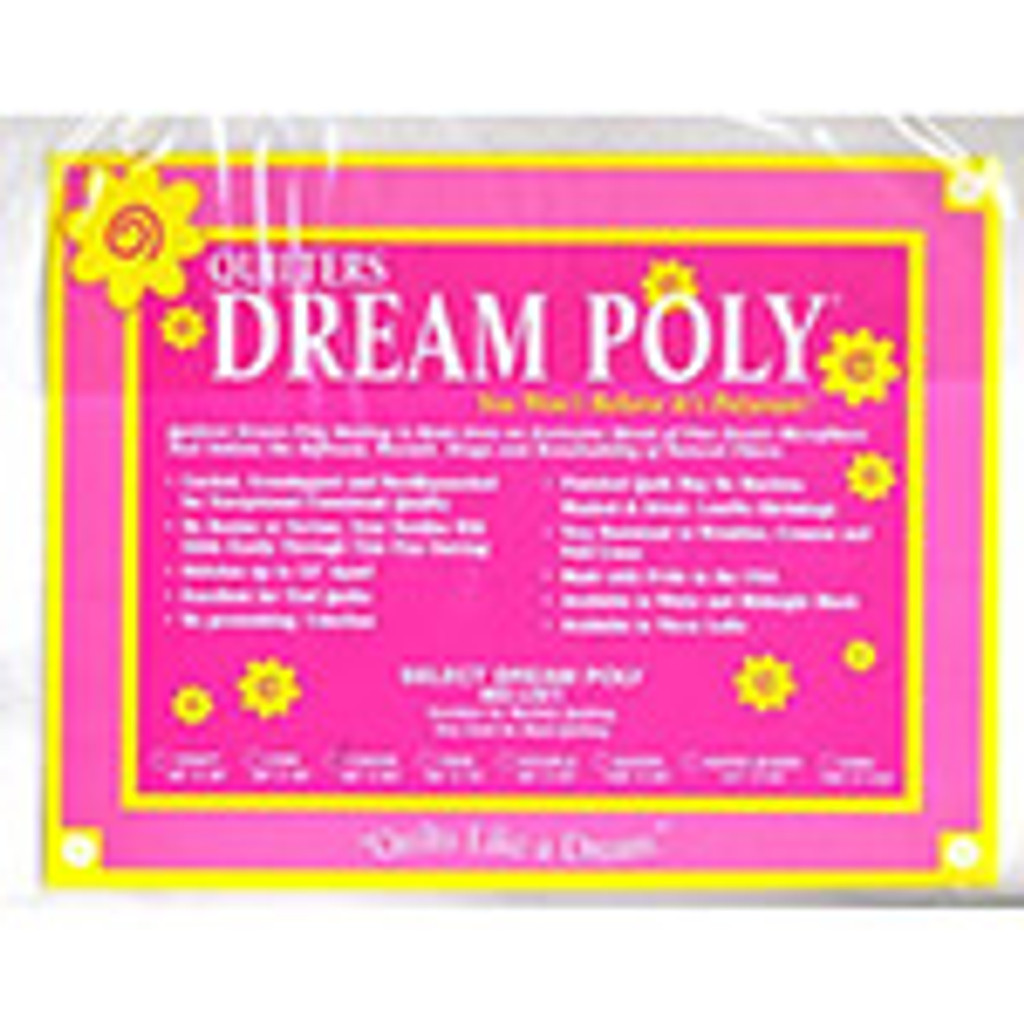 """Crib Size (60x46"""") Quilter's Dream 100% Polyester Batting"""