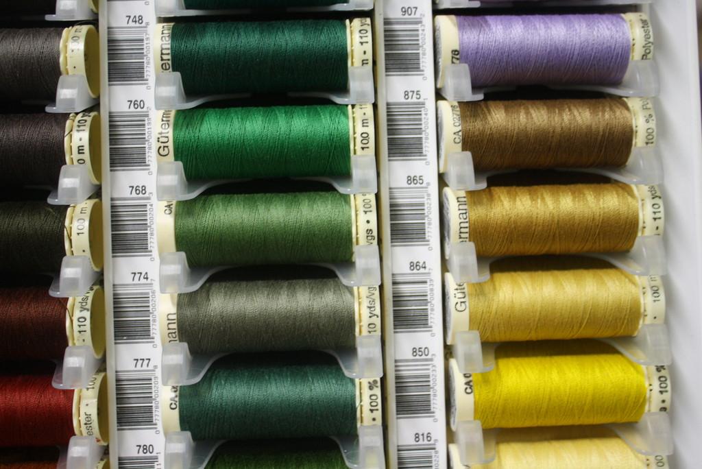 Green #748 Polyester Thread - 100m