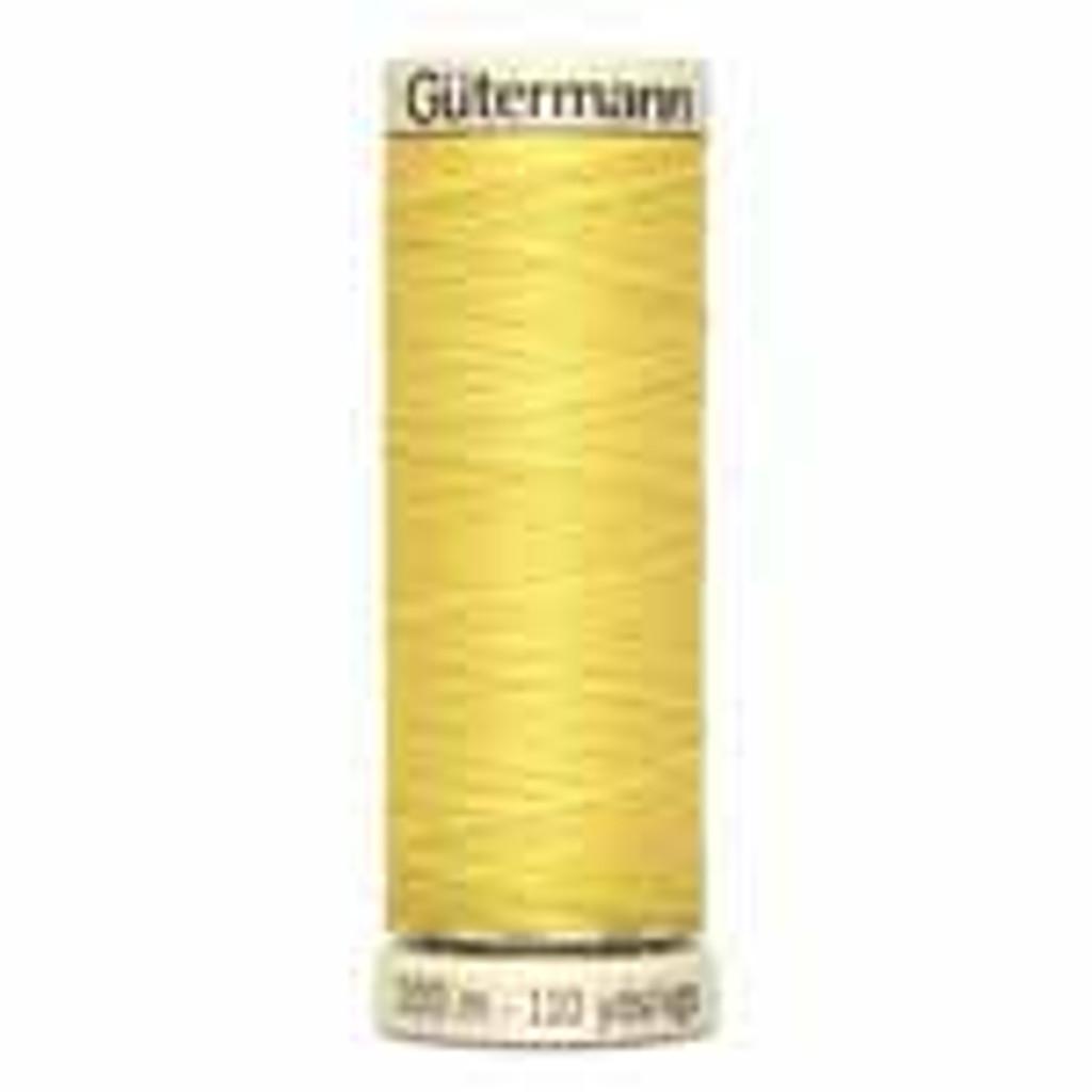 Yellow #808 Polyester Thread - 100m