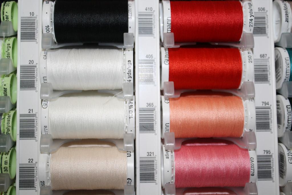 Scarlet #410 Polyester Thread - 250m