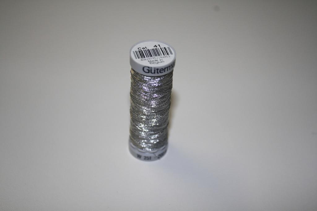 Silver #41 Metallic Thread - 200m
