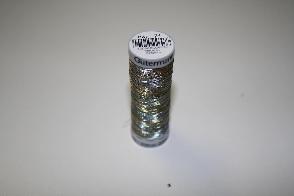 Rainbow #71 Metallic Thread - 200m