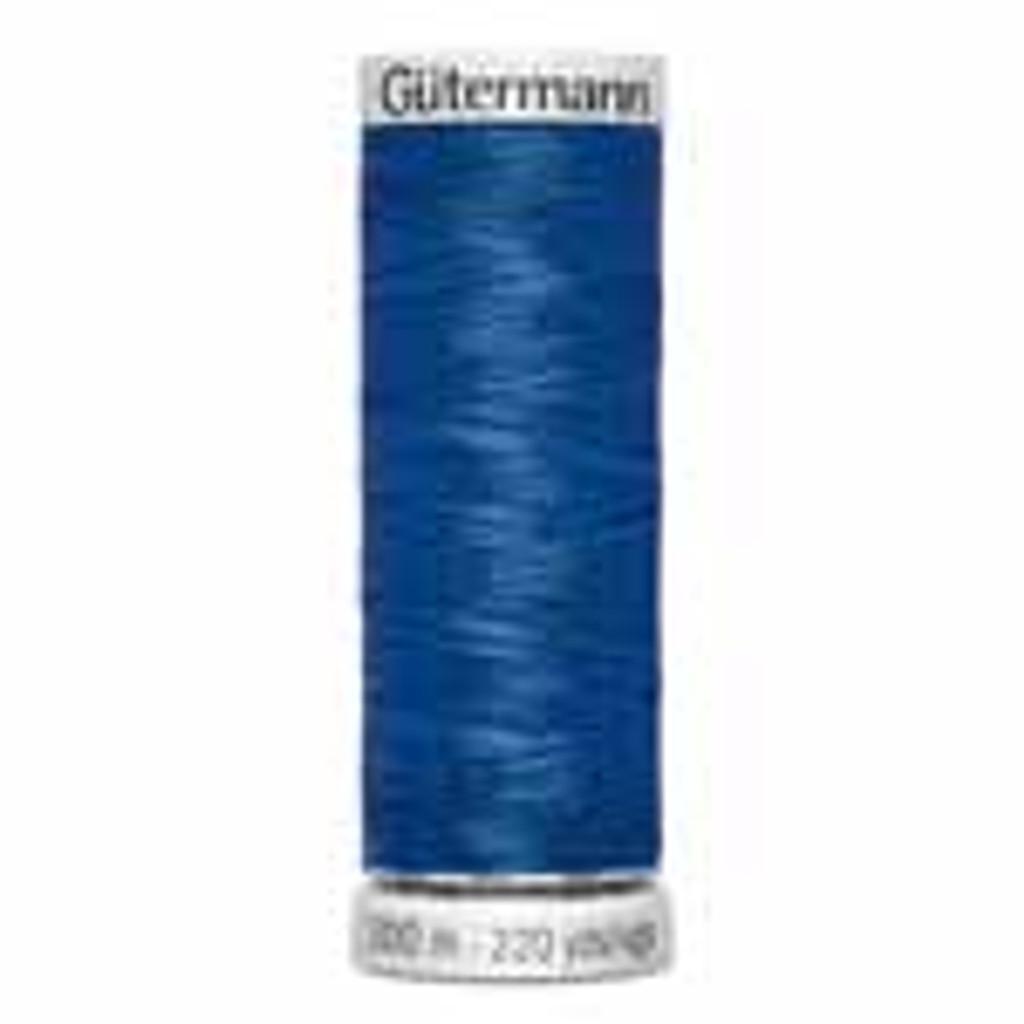 Dark Blue #315 Metallic Thread - 200m