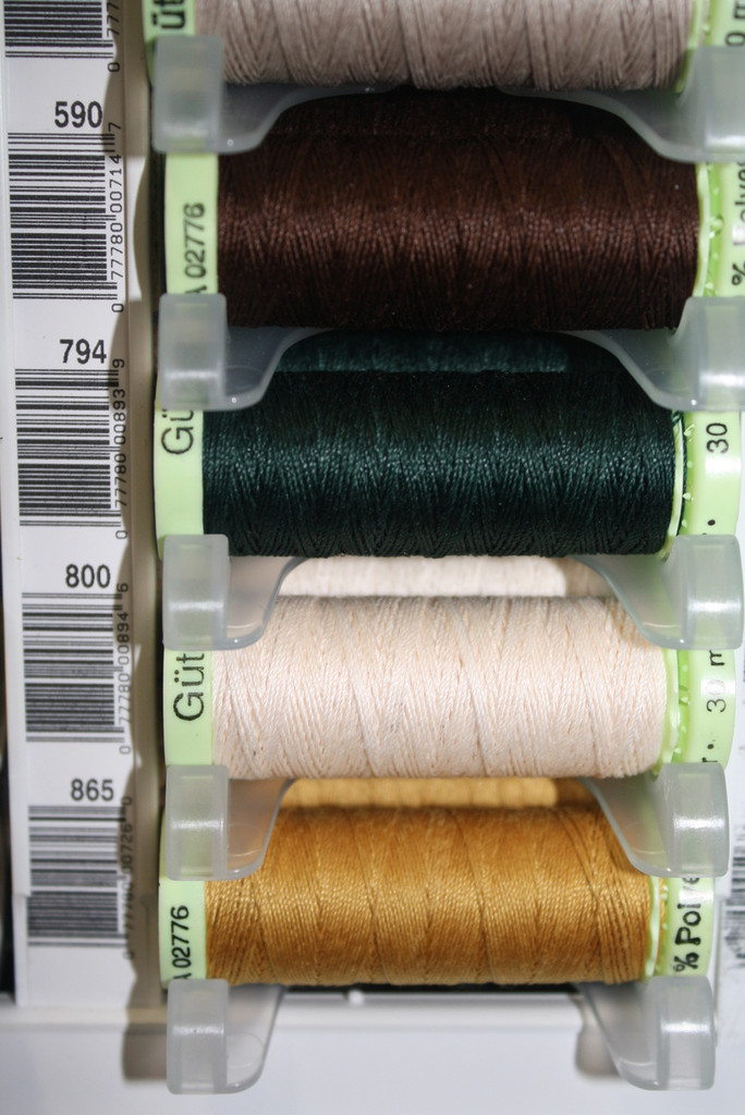 Ivory #800 Polyester Top Stitching - 30m