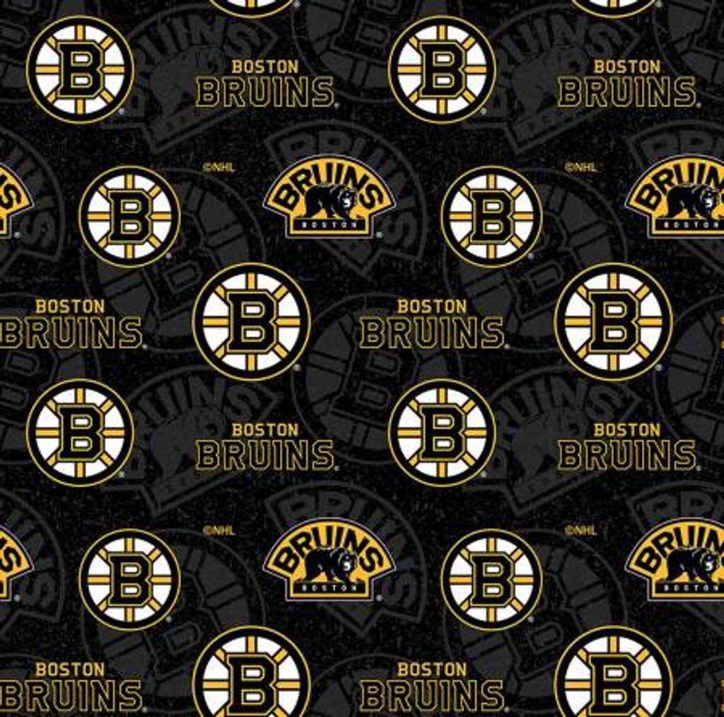 NHL Boston Bruins Tone on Tone Cotton - Sykel Enterprises (1199BRU)