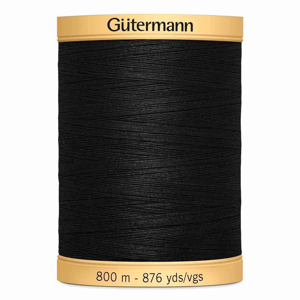 Black #5201 Cotton Thread - 800m (4085201)