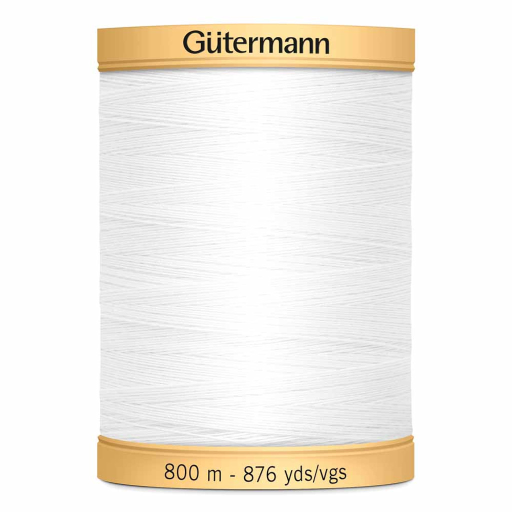White #5709 Cotton Thread - 800m (4085709)