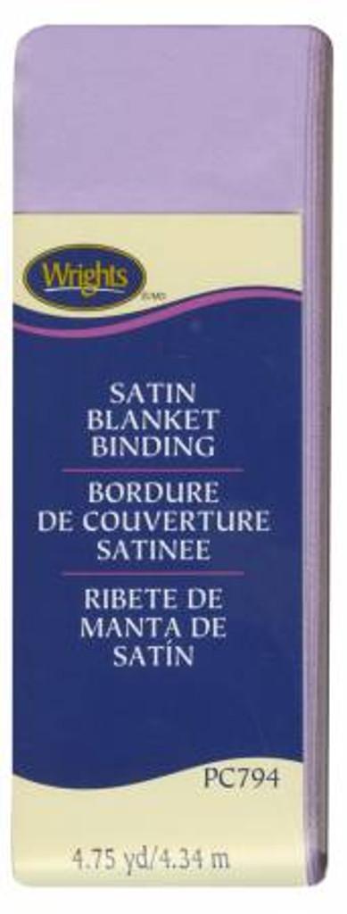 Lavender Satin Blanket Binding (117794051)