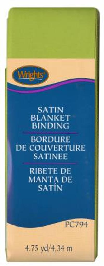 Kiwi Satin Blanket Binding (1177941136)