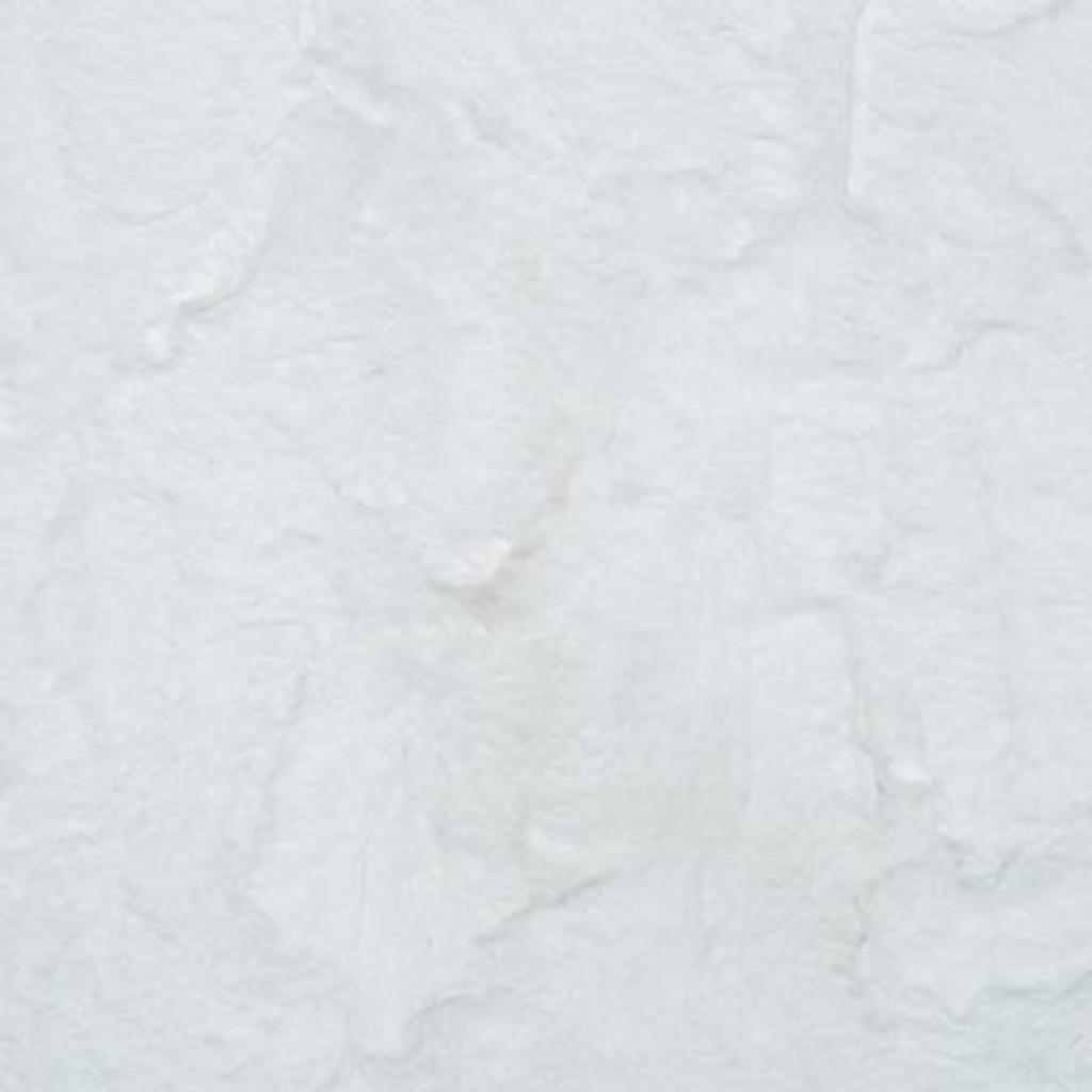 Snow Hide - Shannon Fabrics Cuddle Minky (lchidesnow)