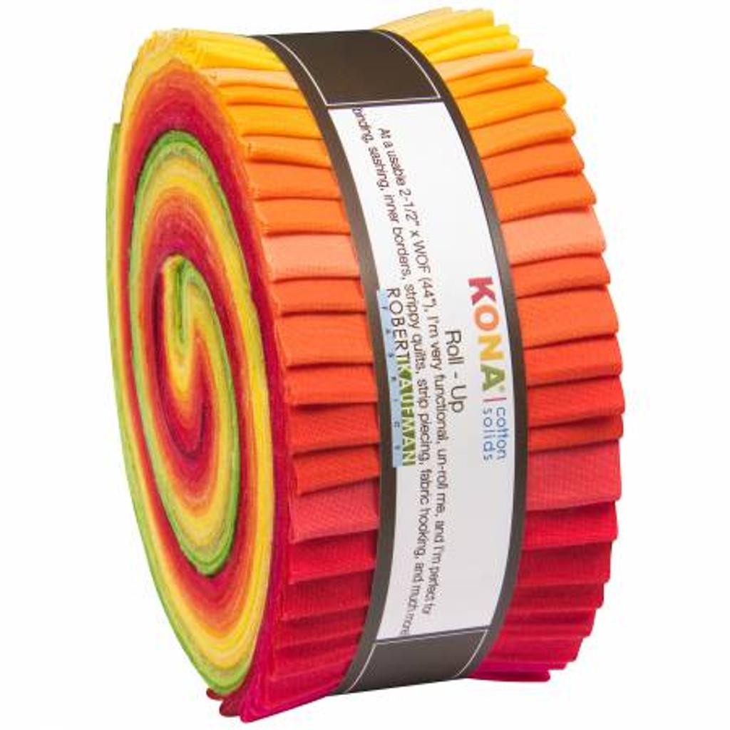 Jelly Roll - Christa Watson Designer Palette - 40 pieces - Robert Kaufman Cotton (RU-485-40)