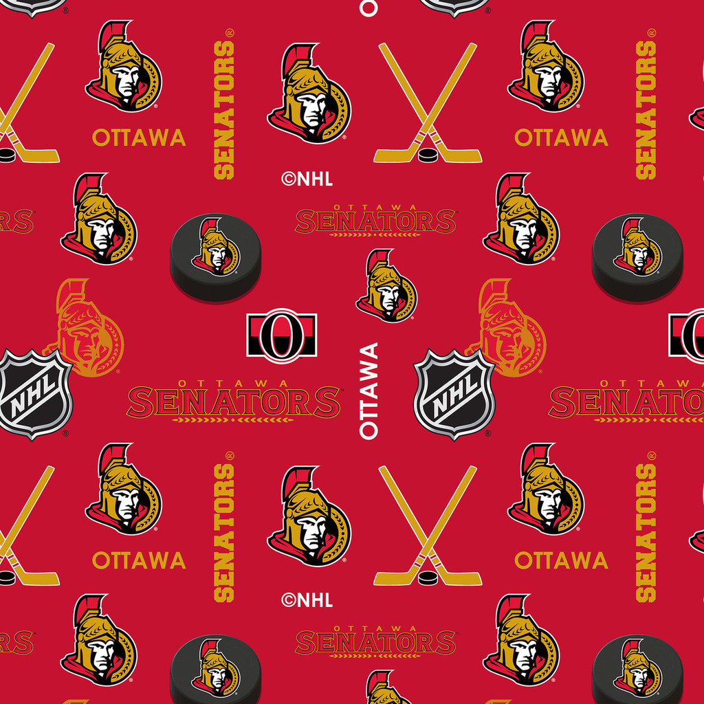 NHL Hockey Ottawa Senators Flannel