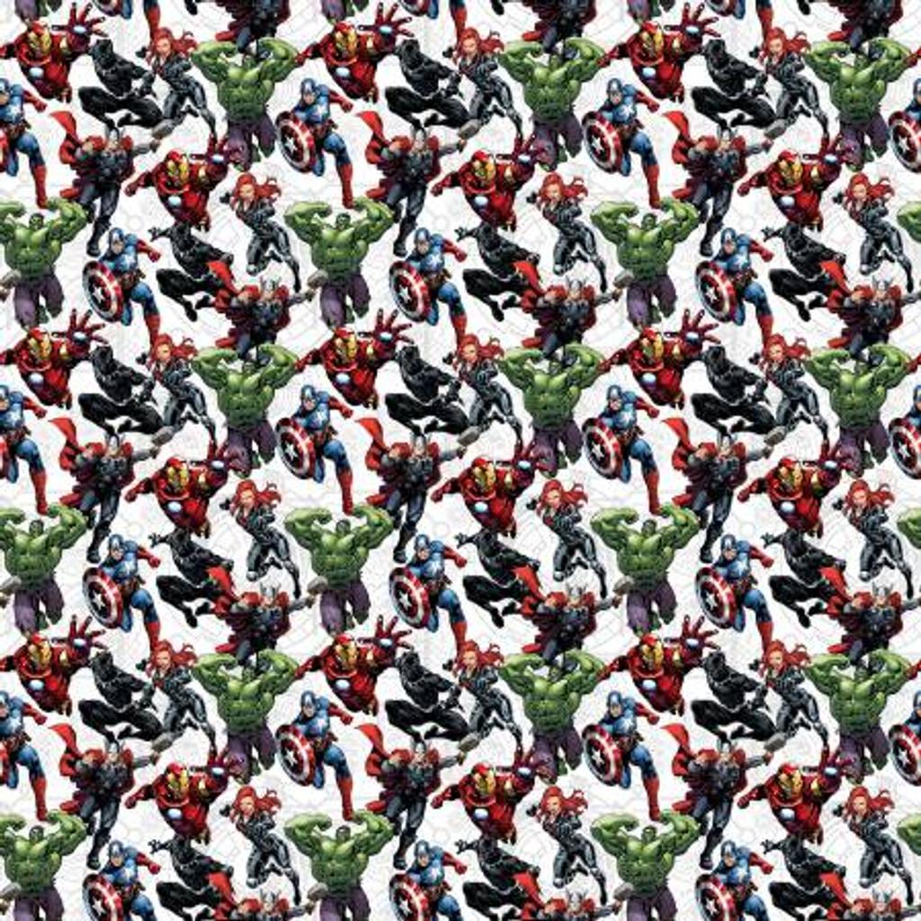 Marvel Avengers Unite - Springs Creative Cotton - 1/2 yard
