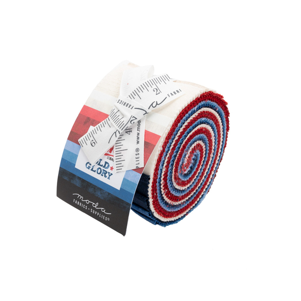 Jelly Roll - Old Glory Grunge - 20 pieces - Moda Cotton