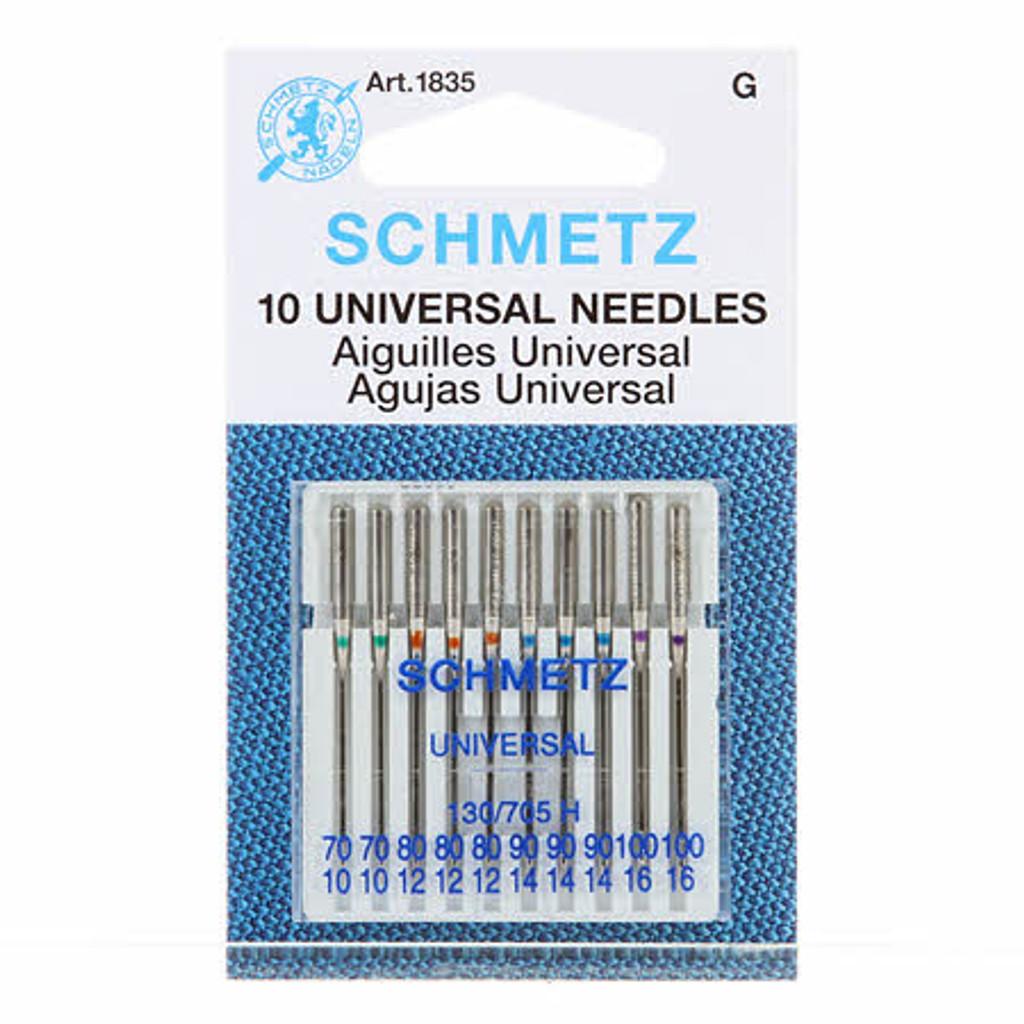 Schmetz Universal Machine Needles 70/80/90/100