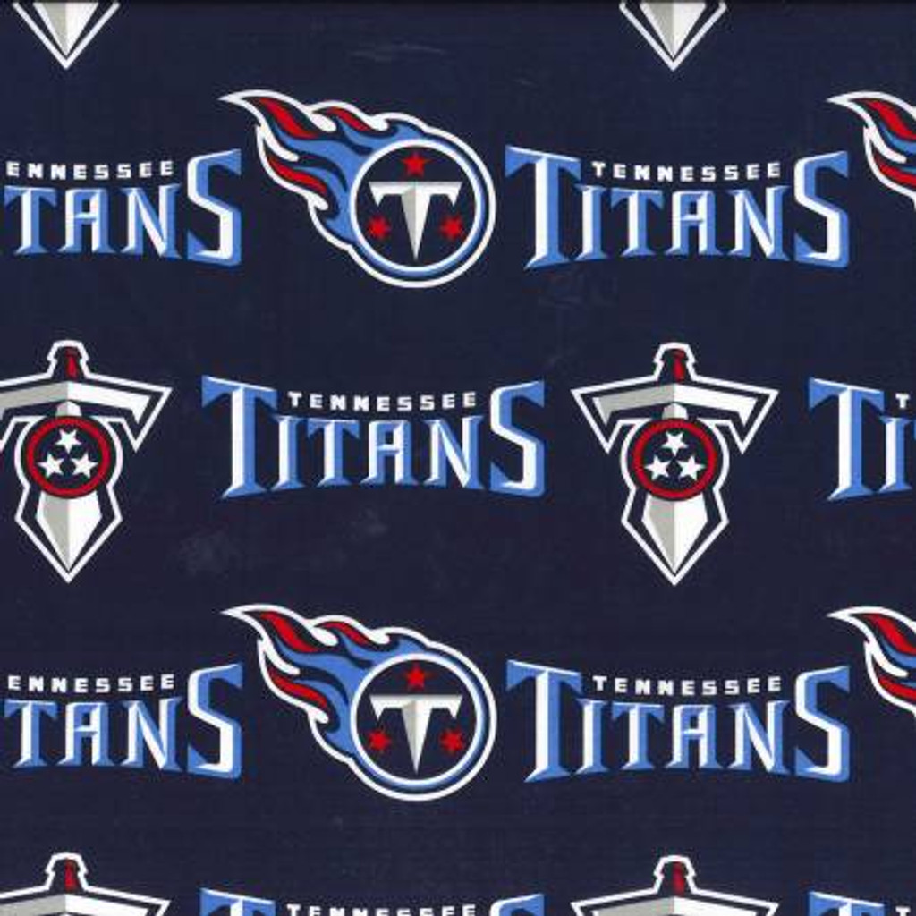 """NFL Tennessee Titans 60"""" Wide Cotton - 1/2 yard (70171-D)"""