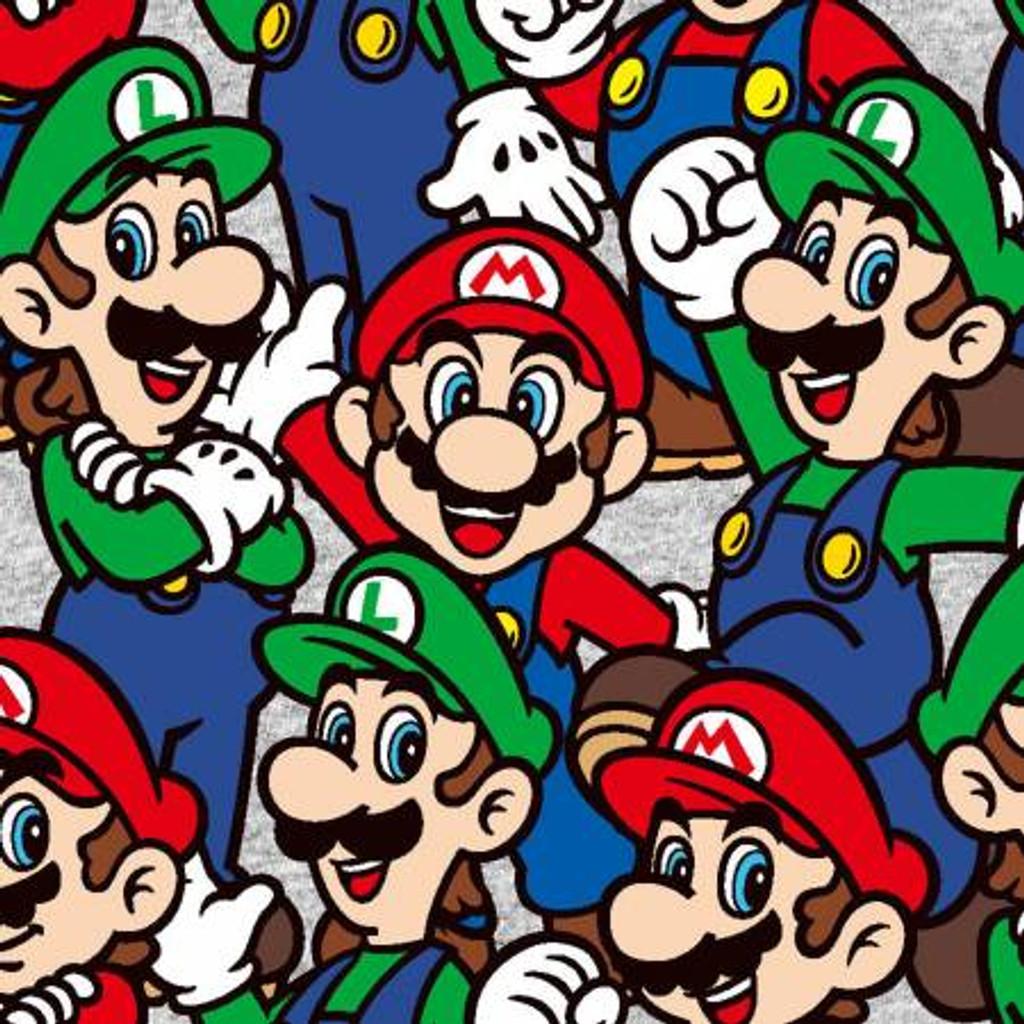 Packed Mario & Luigi Nintendo - Springs Creative - 1/2 yard (73545A620715)
