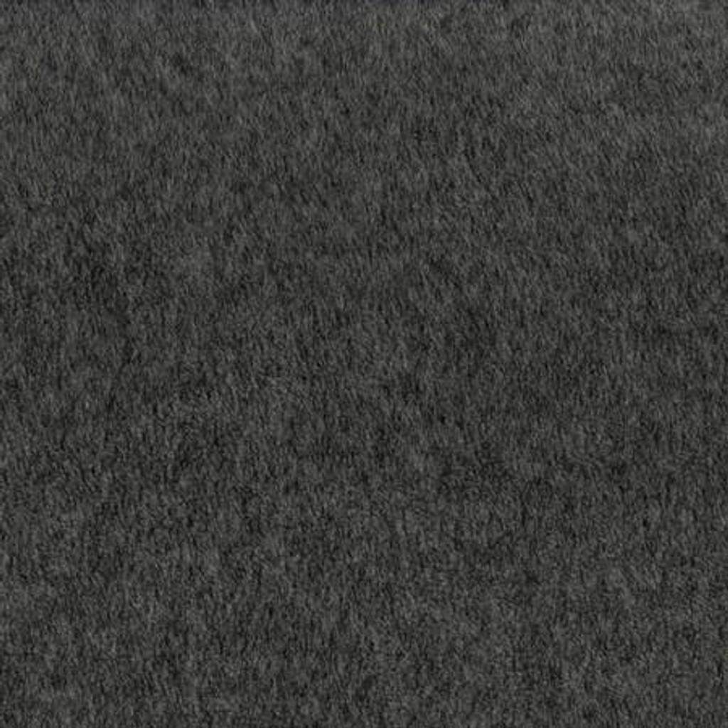 Dark Heather Grey Luxe Anti-Pill Fleece - 1/2 yard (DX19170A149)