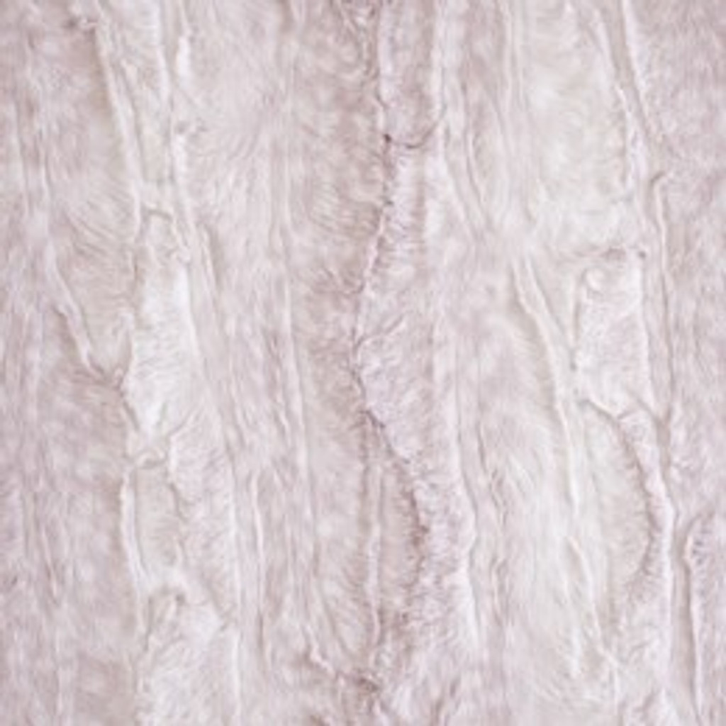 Pink Fawn - Red Pine Minky - 1/2 yard (RPM-Fawn-pnk)