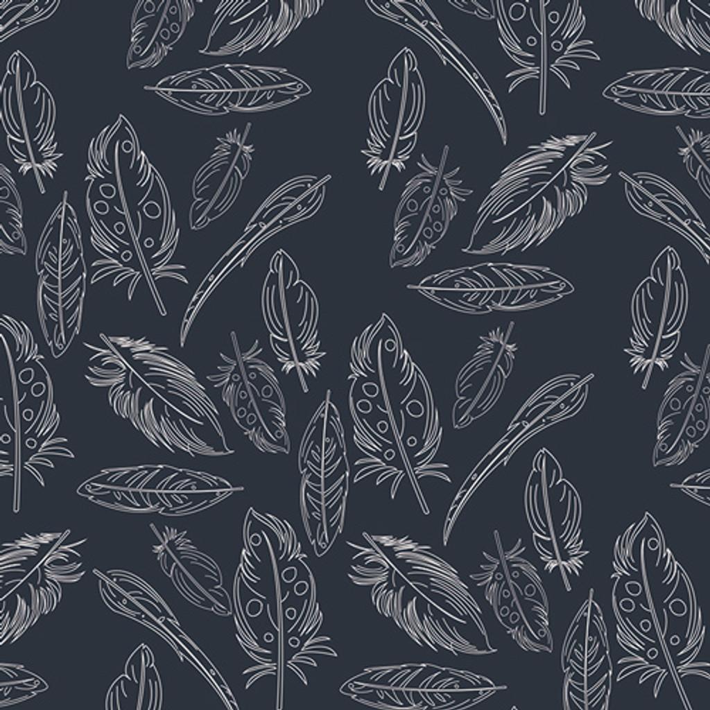 Panache Profundo Feather - Art Gallery Knit - 1/2 yard