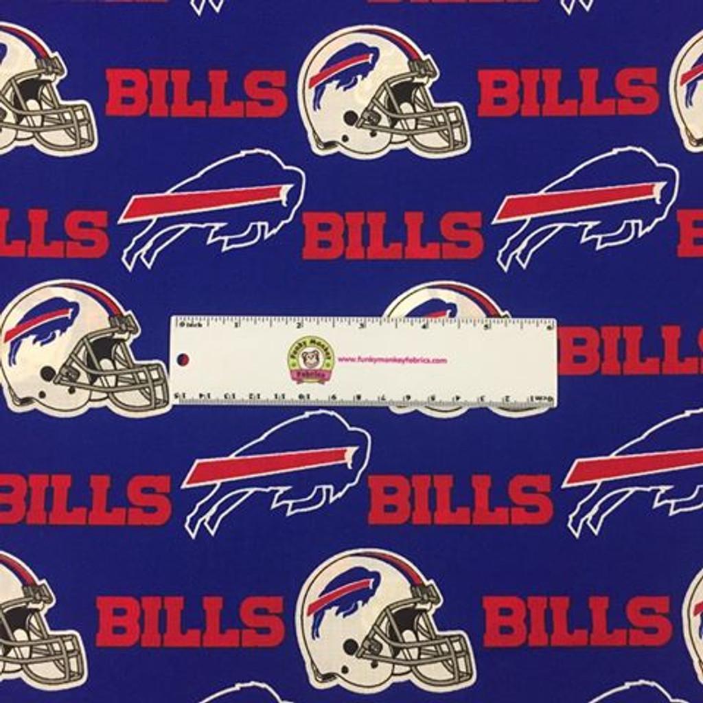 "NFL Buffalo Bills 60"" Wide Cotton"