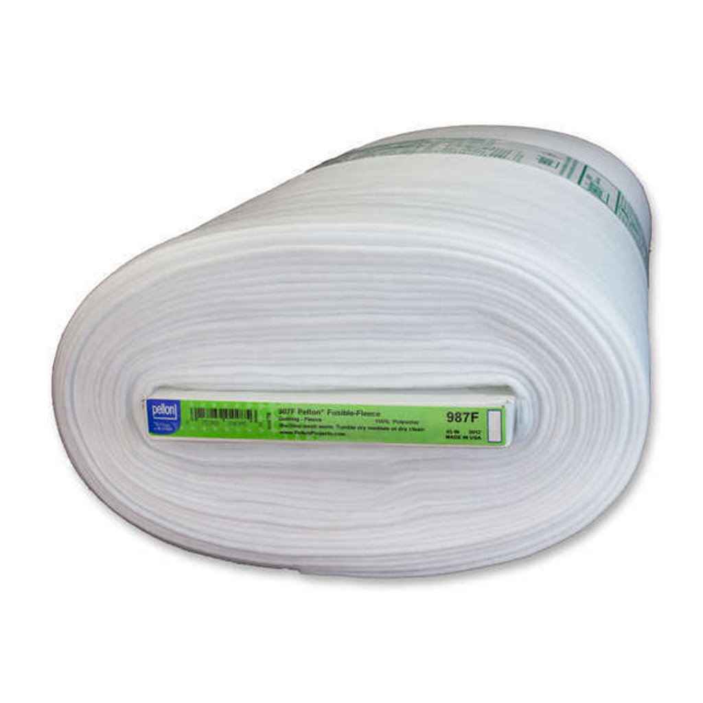 987 White - Pellon Fusible Fleece (987F)