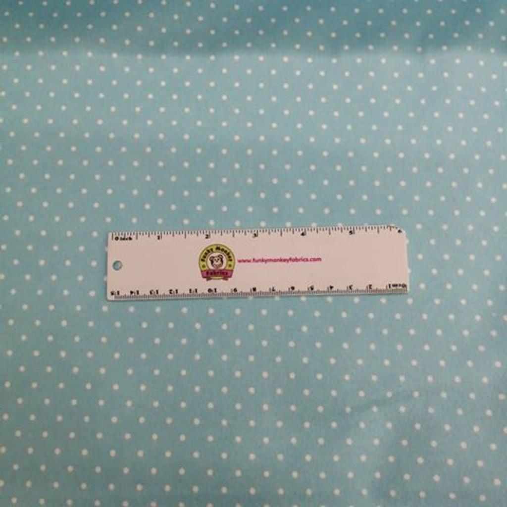 Tiny Dots - Aqua - Robert Kaufman Flannel (FIN-9255-70)