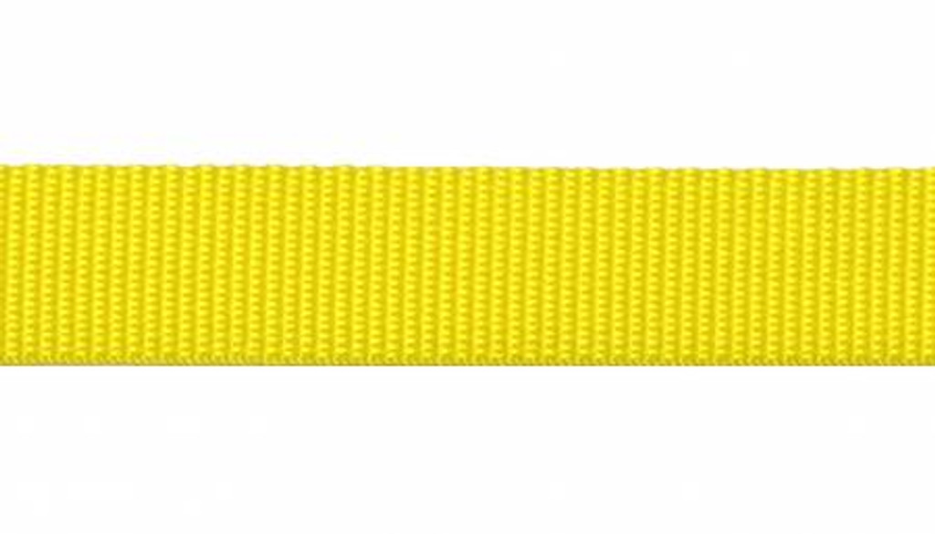 """1"""" Webbing by the Yard - Yellow"""