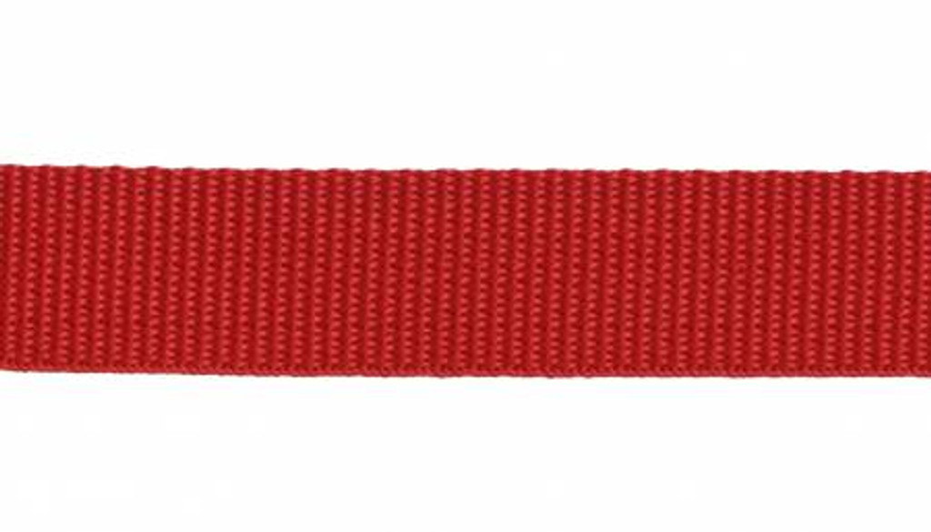 """1"""" Webbing by the Yard - Red"""