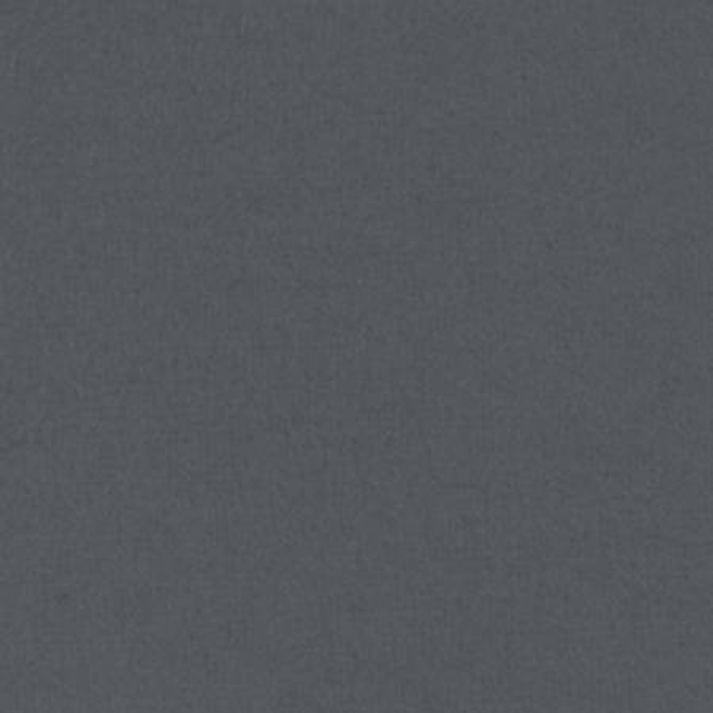 Solid Charcoal Flannel - 1/2 yard