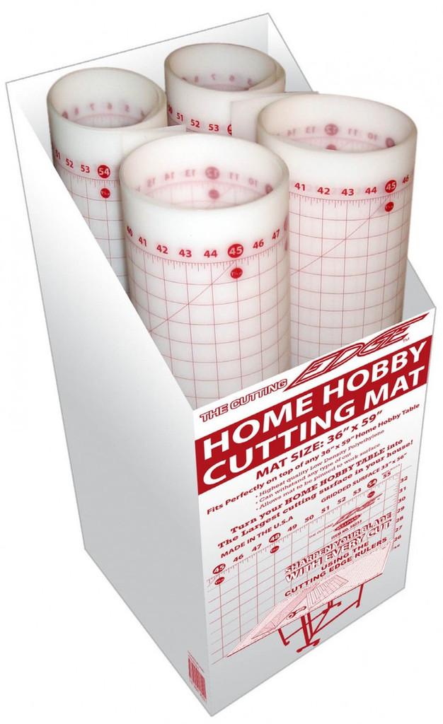 "White Large Rotary Cutting Mat - 36""x59"" (33x56"" grid)"