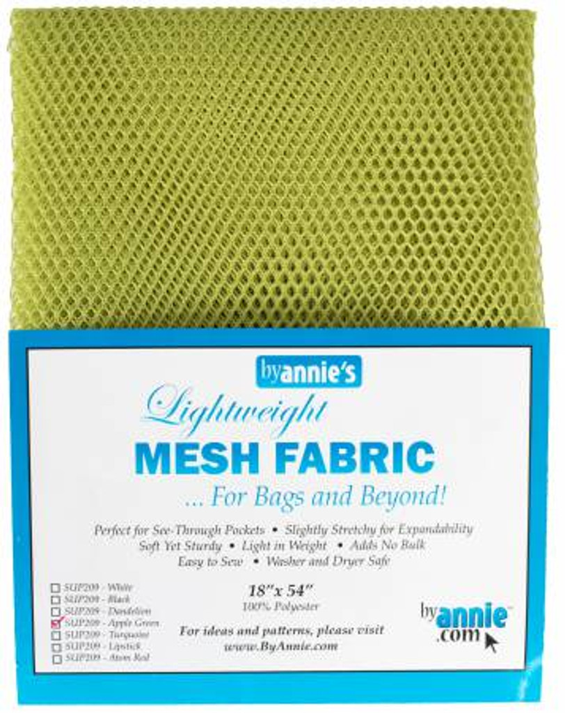 "Mesh Lite Weight Apple Green - 18x54"" package"
