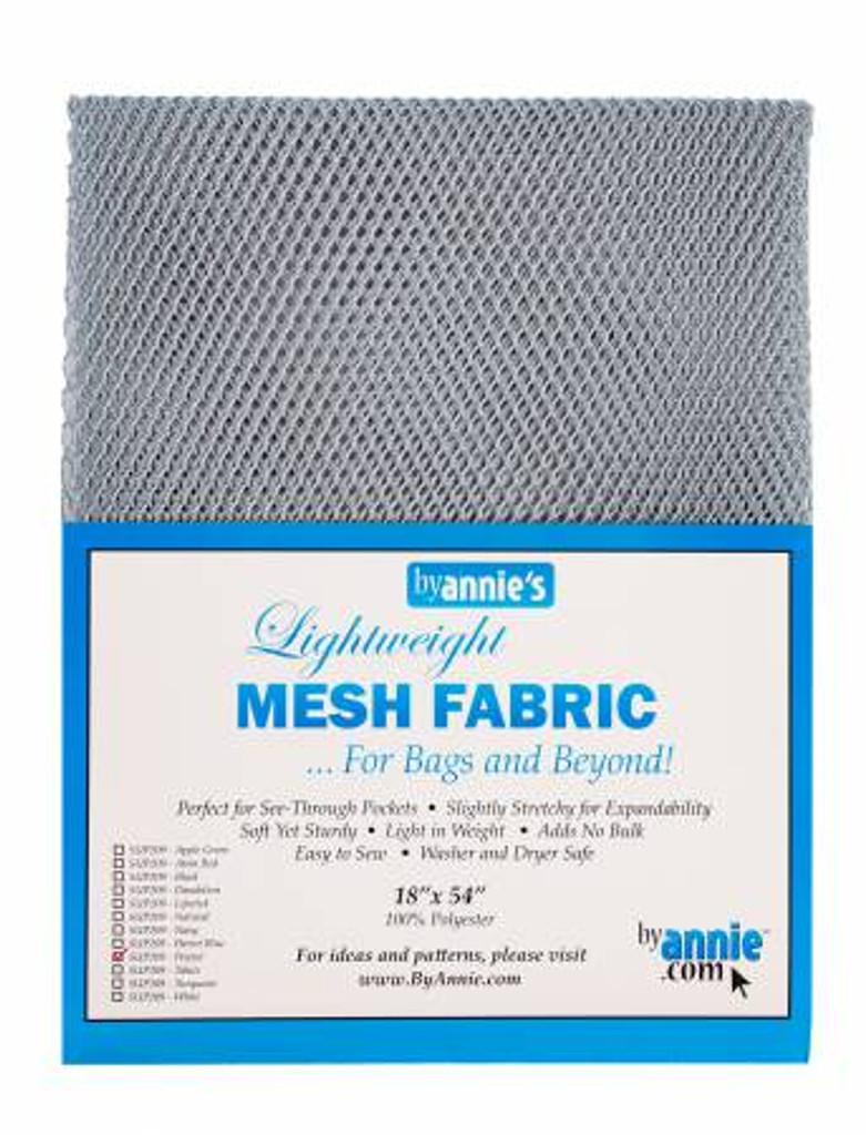 "Mesh Lite Weight Pewter - 18x54"" package"