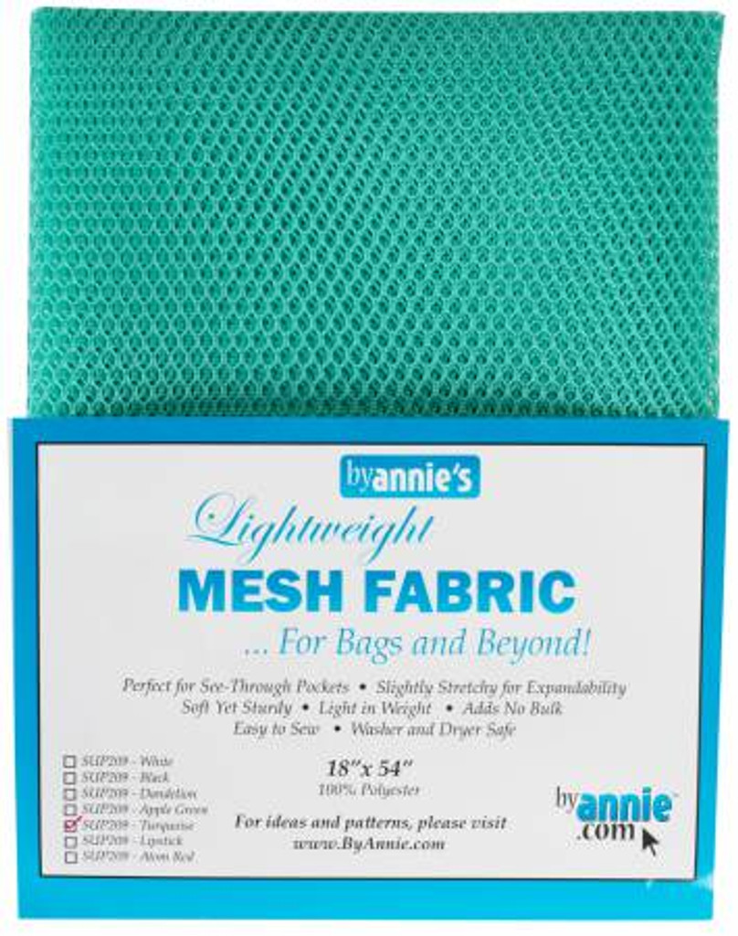 """Mesh Lite Weight Turquoise - 18x54"""" package"""