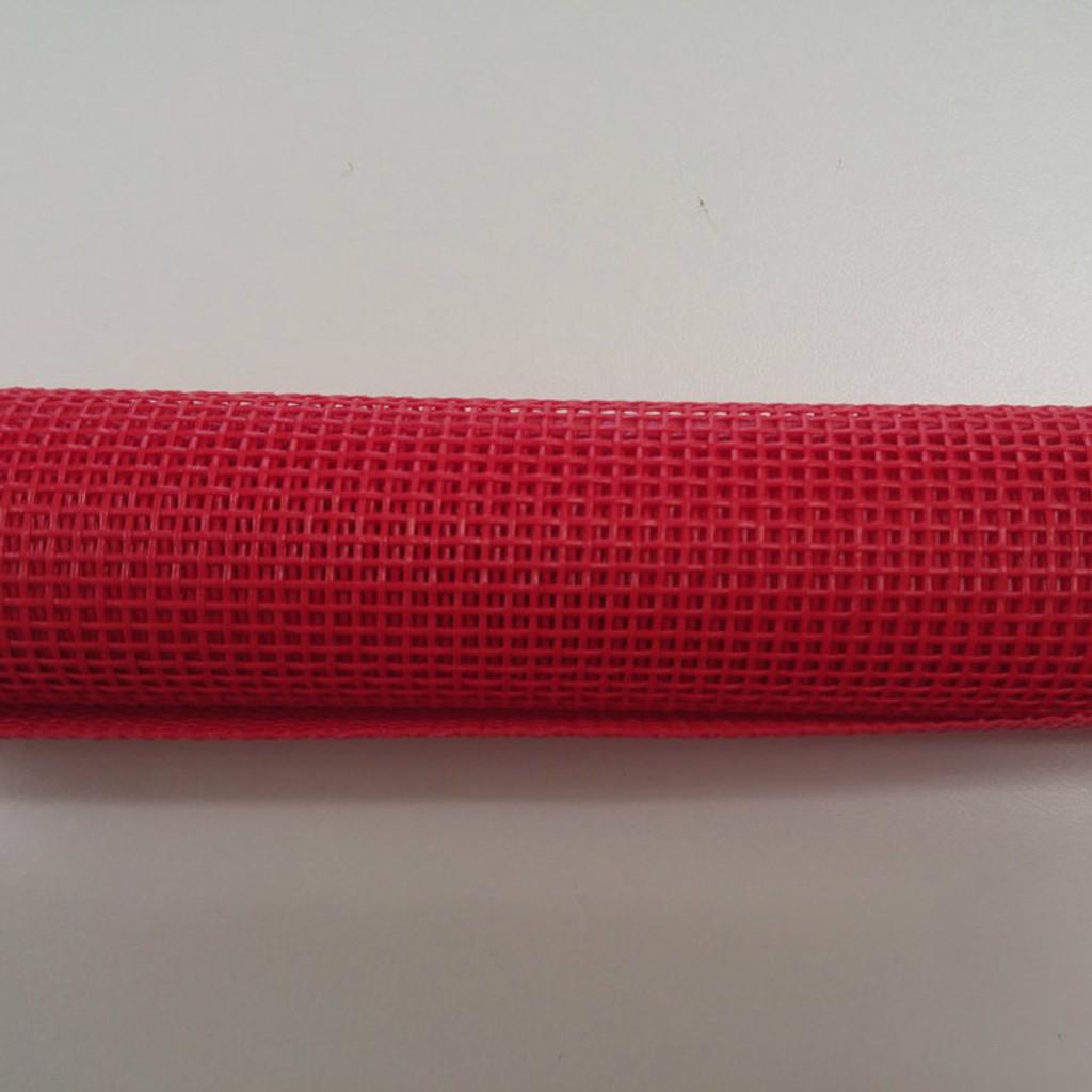 "Red Vinyl Bag Mesh - 18x36"""
