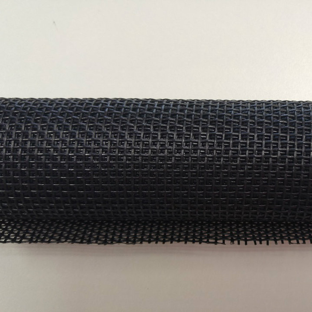 Black Vinyl Bag Mesh Roll