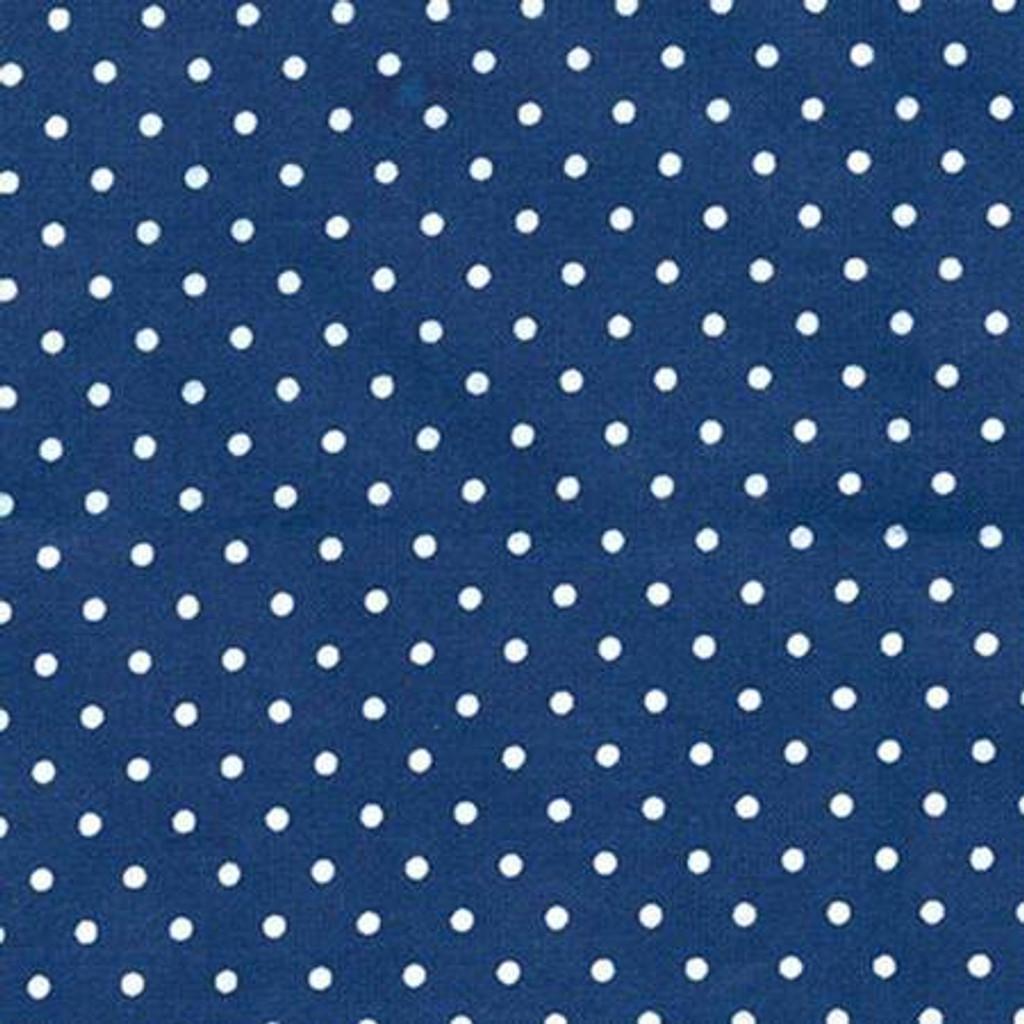 Tiny Dots - Navy - Robert Kaufman Flannel - 1/2 yard