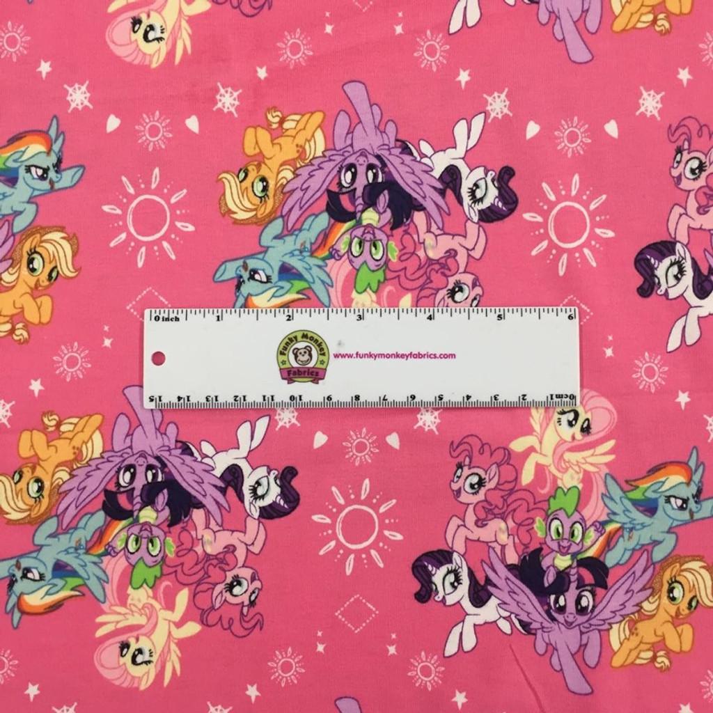 Disney My Little Pony on Pink - Camelot Knit (95010101K-1)