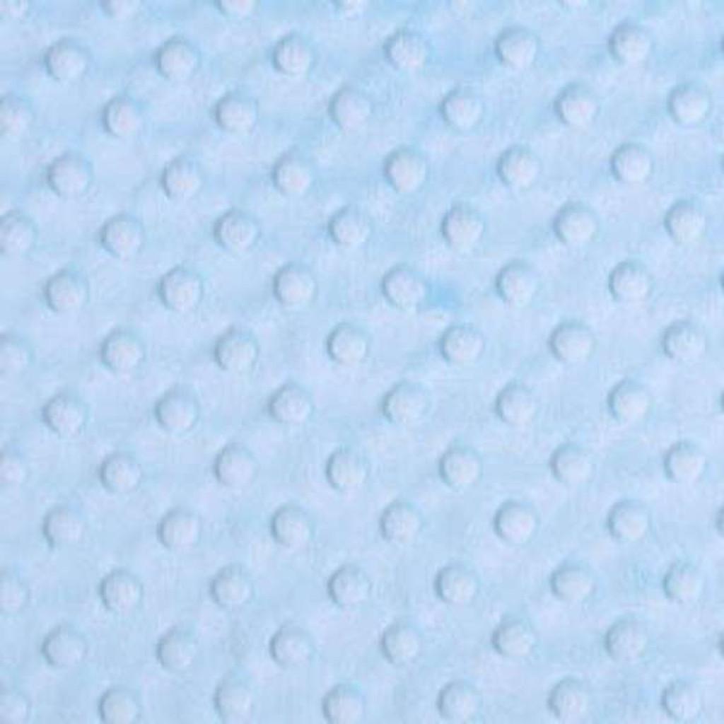 Baby Blue Dimple - Shannon Fabrics Cuddle Minky