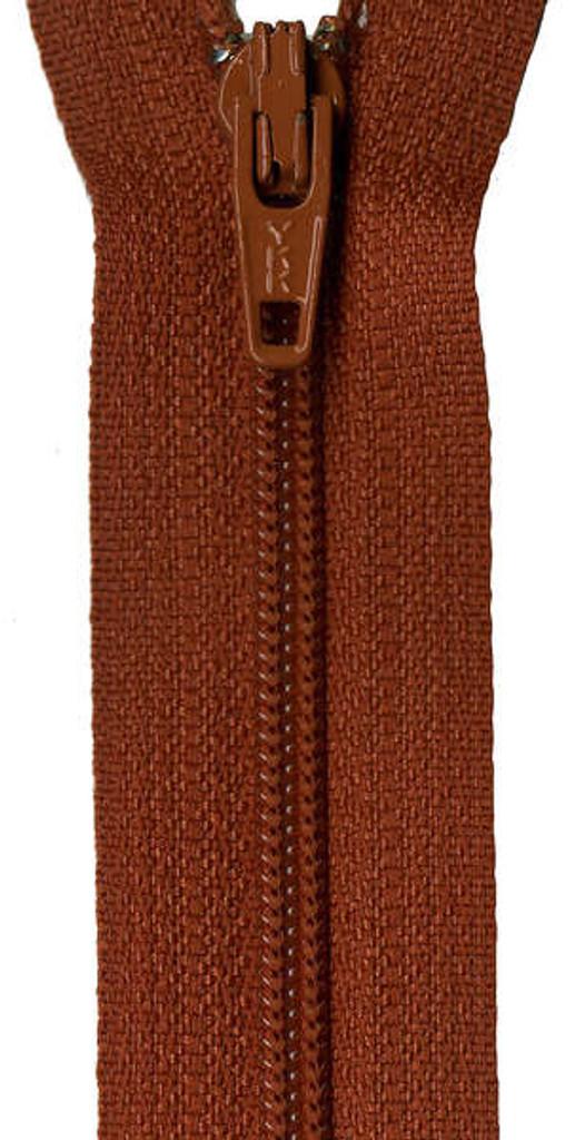 35.5cm/14in Zipper - Gingerbread