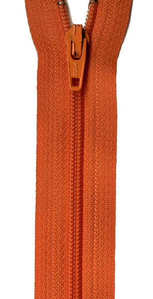 "14"" Zipper - Orange Peel"