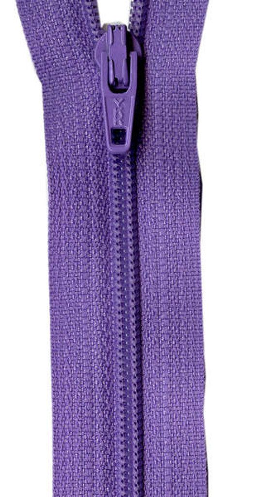 "14"" Zipper - Princess Purple"