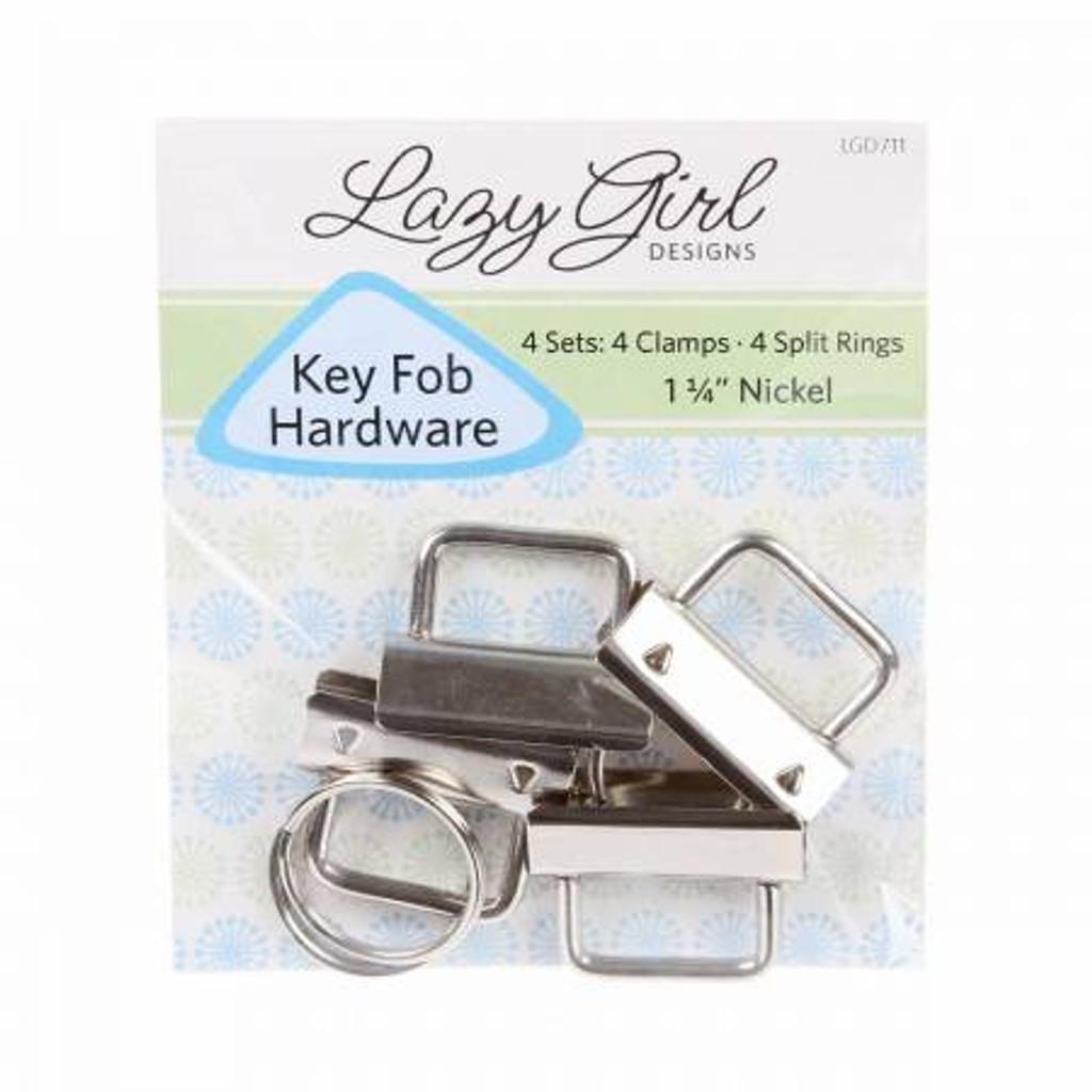 """Key Fob Hardware Set of 4 - 1.25"""""""