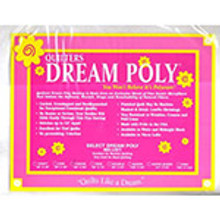 Crib Size - Quilter's Dream Select - Polyester Batting (selpoly-crib)